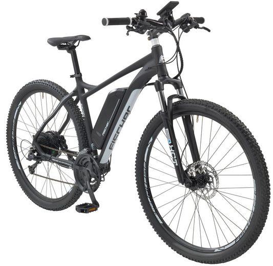 fischer fahrraeder e bike mountainbike em 1724 29 zoll 24 gang heckmotor 422 wh online. Black Bedroom Furniture Sets. Home Design Ideas