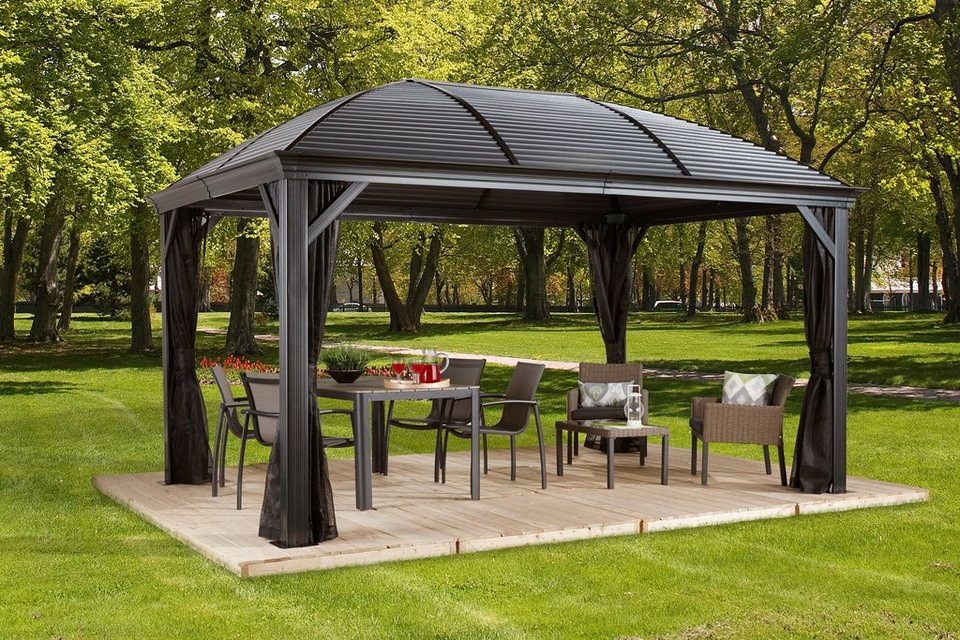 clemens hobby tec pavillon moreno 10x14 bxt 423x298 cm. Black Bedroom Furniture Sets. Home Design Ideas