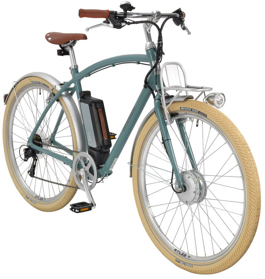 prophete e bike city herren navigator urban retro 28 zoll 8 gang frontmotor 374 wh online. Black Bedroom Furniture Sets. Home Design Ideas