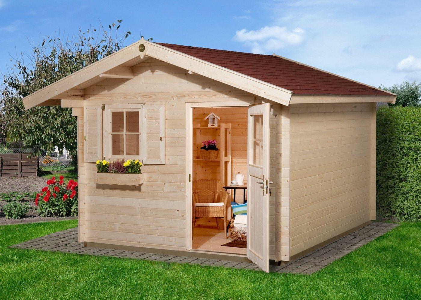 gartenhaus 300x 250 preisvergleiche erfahrungsberichte. Black Bedroom Furniture Sets. Home Design Ideas