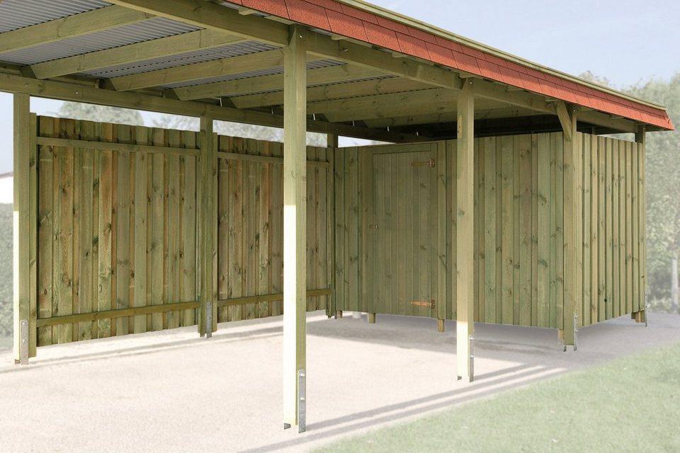carport garagen zubeh r online kaufen otto. Black Bedroom Furniture Sets. Home Design Ideas