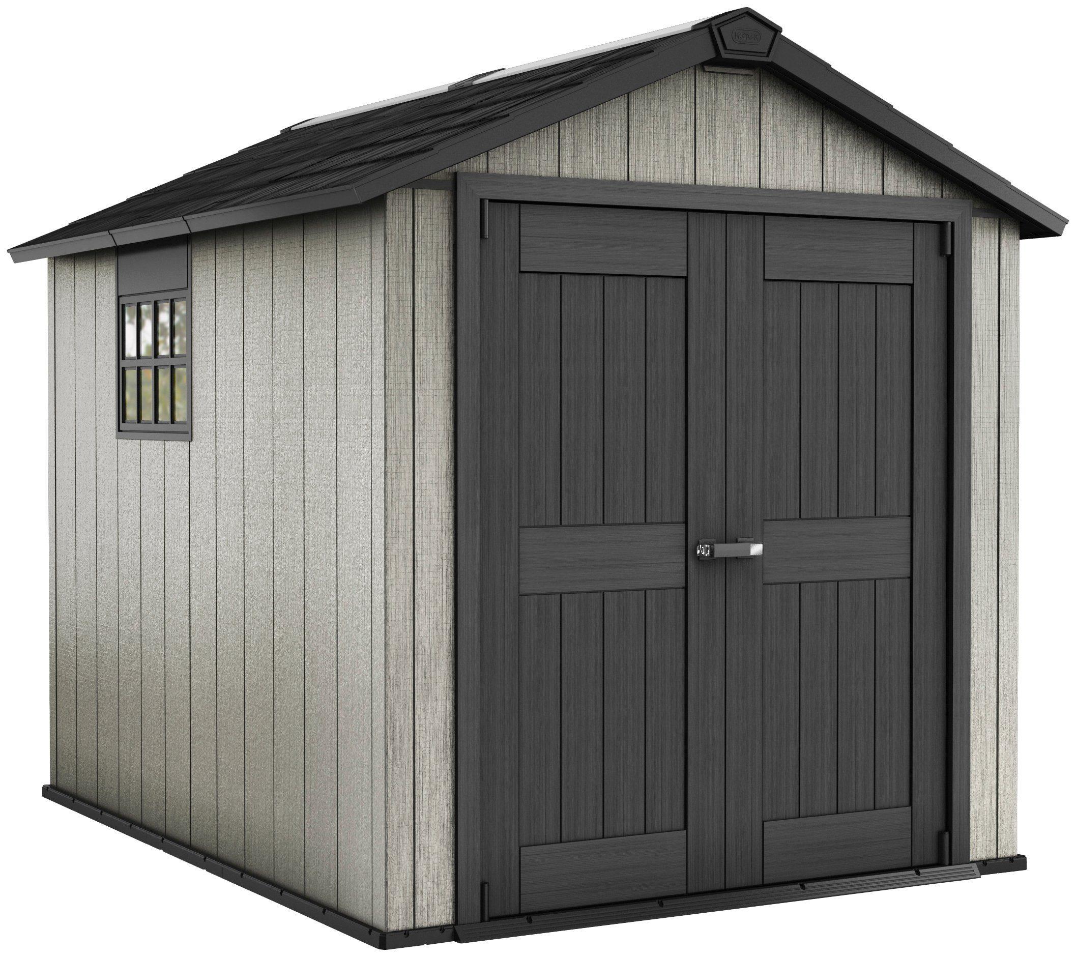 Tepro Kunststoffhaus »Oakland 759«, DUO TECH, B/T/H: 229/287/242 cm