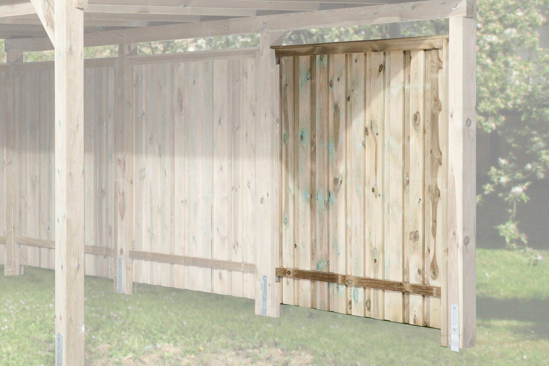 WEKA Seitenwand , für Carport »Gr. 1-3« BxL: 180 x 181 cm