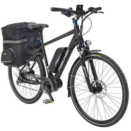 Fischer Fahrraeder E-Bike Trekking Herren »ETH 1607-S2 by Joey Kelly«, 28 Zoll, 9 Gang, Mittelmotor, 504 Wh