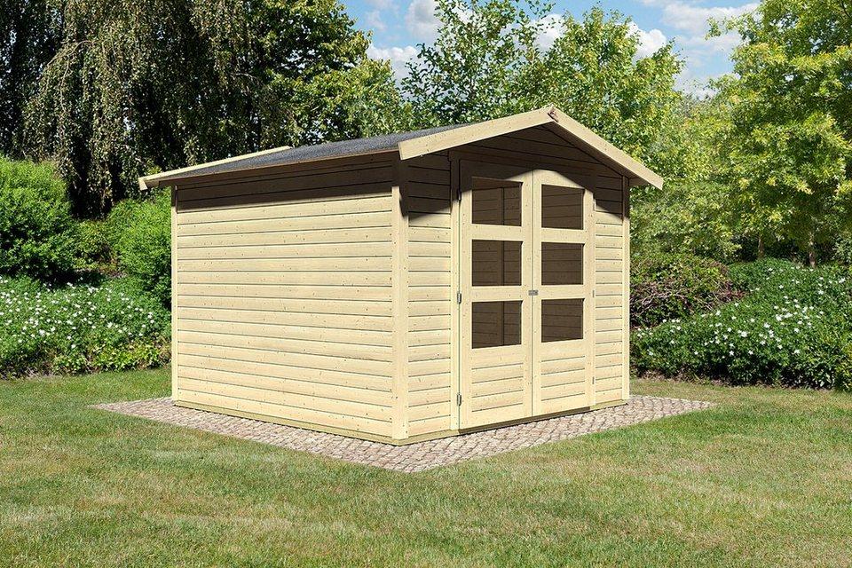 konifera gartenhaus bellantis 4 bxt 282x282 cm otto. Black Bedroom Furniture Sets. Home Design Ideas