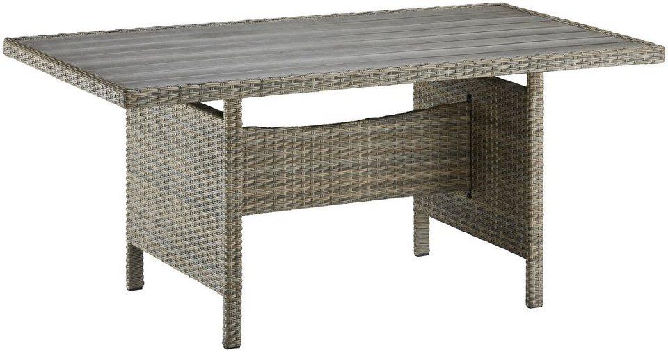 tisch venezia polyrattan online kaufen otto. Black Bedroom Furniture Sets. Home Design Ideas