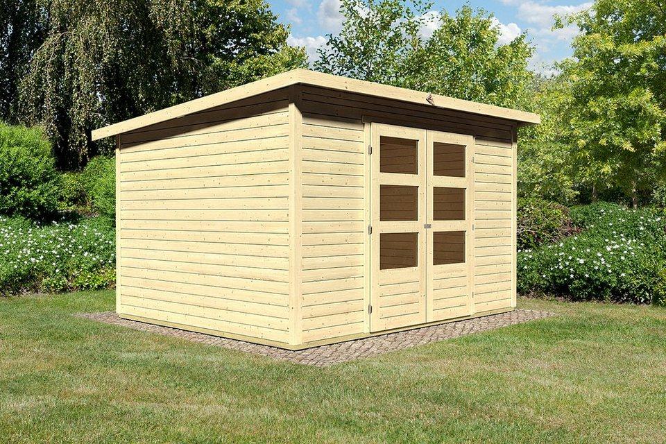 Konifera Gartenhaus Stakkato 5 Bxt 330x282 Cm Otto