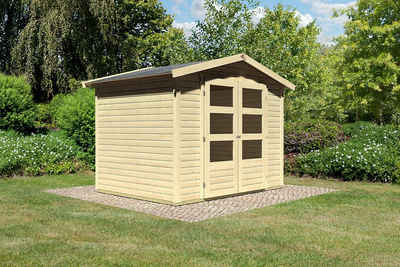 Gartenhaus Holz Urig