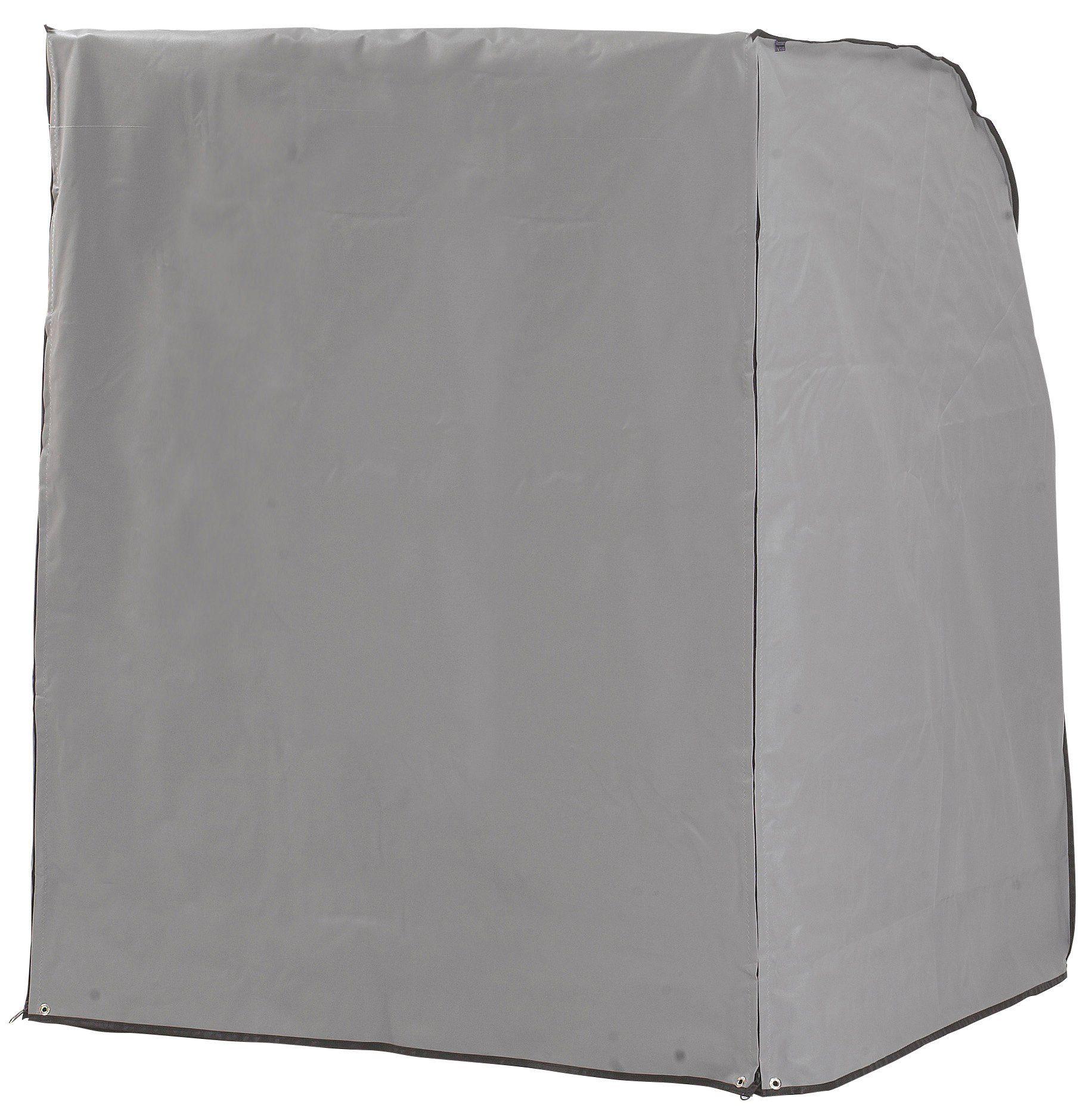 Schutzhülle, für Strandkörbe, B/T/H: 125/114/154 cm, steingrau