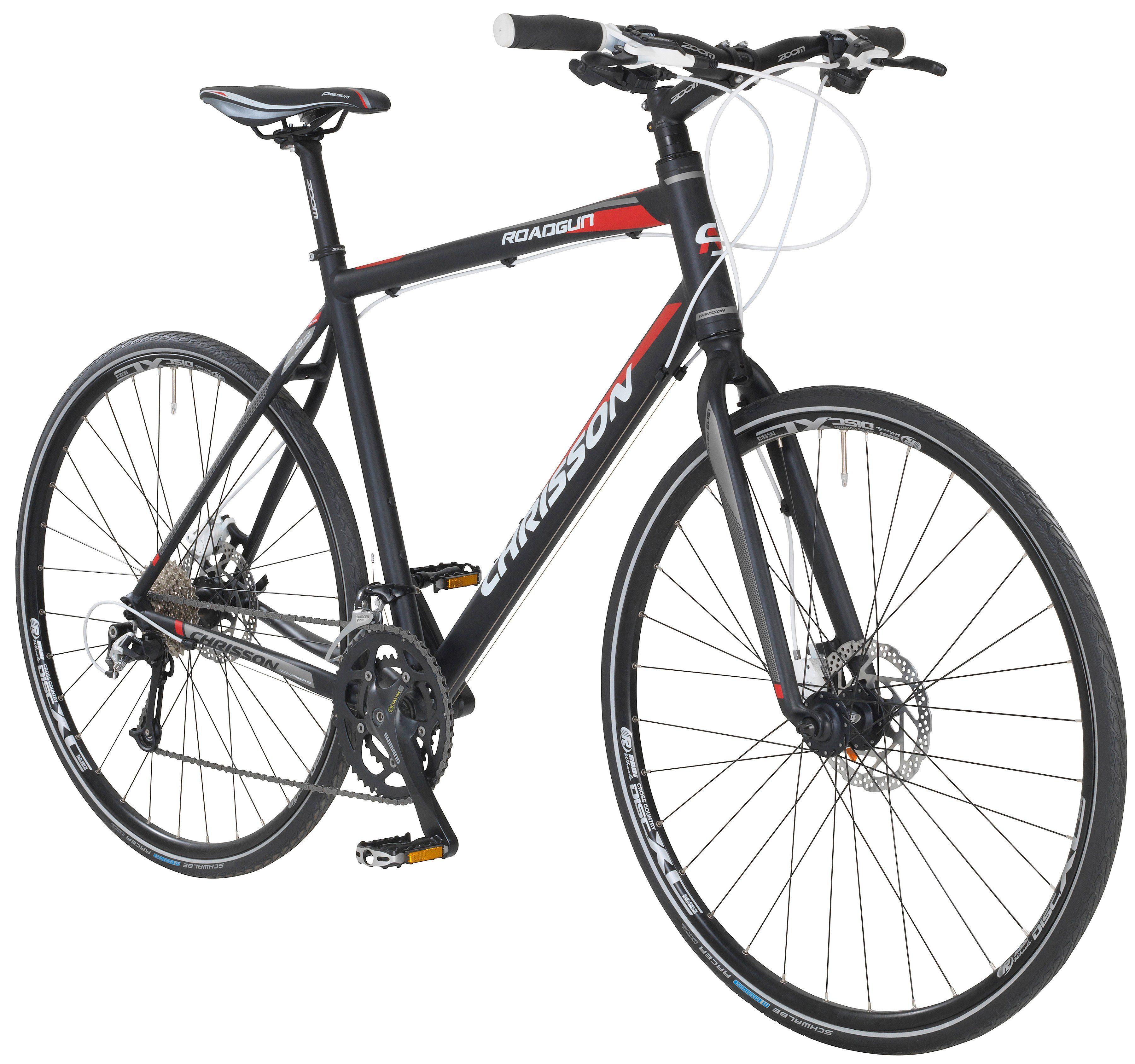 CHRISSON Crossbike »Roadgun 2.0«, 28 Zoll, 50cm Rahmenhöhe, 18 Gang, Hydr. Scheibenbremsen