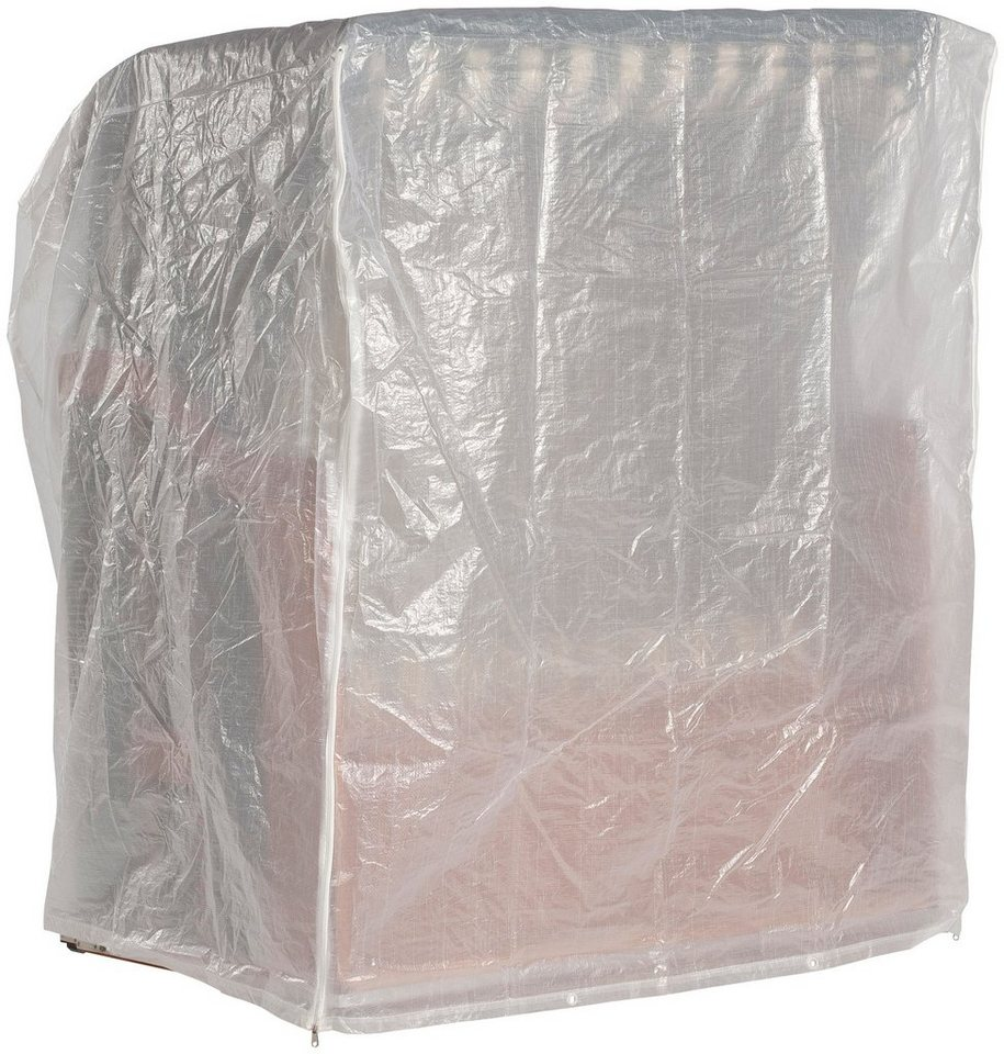 schutzh lle f r strandk rbe b t h 155 115 160 cm wei. Black Bedroom Furniture Sets. Home Design Ideas