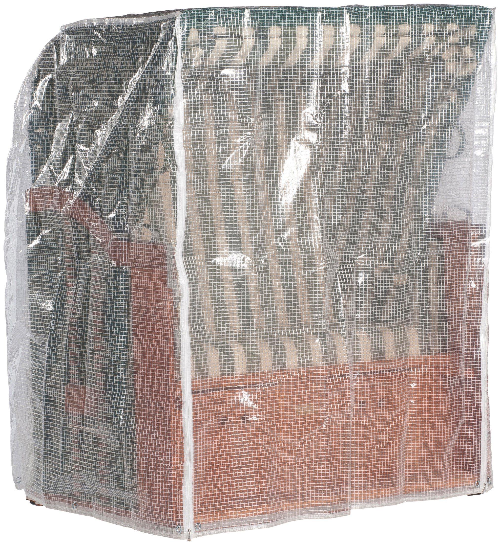Schutzhülle, für Strandkörbe, B/T/H: 125/110/156cm, transparent