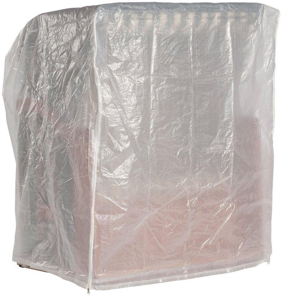 schutzh lle f r strandkorb b t h 135 115 160 cm wei. Black Bedroom Furniture Sets. Home Design Ideas