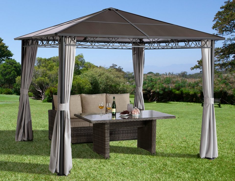 pavillon klappbar fabulous pavillon gunstig siena garden. Black Bedroom Furniture Sets. Home Design Ideas