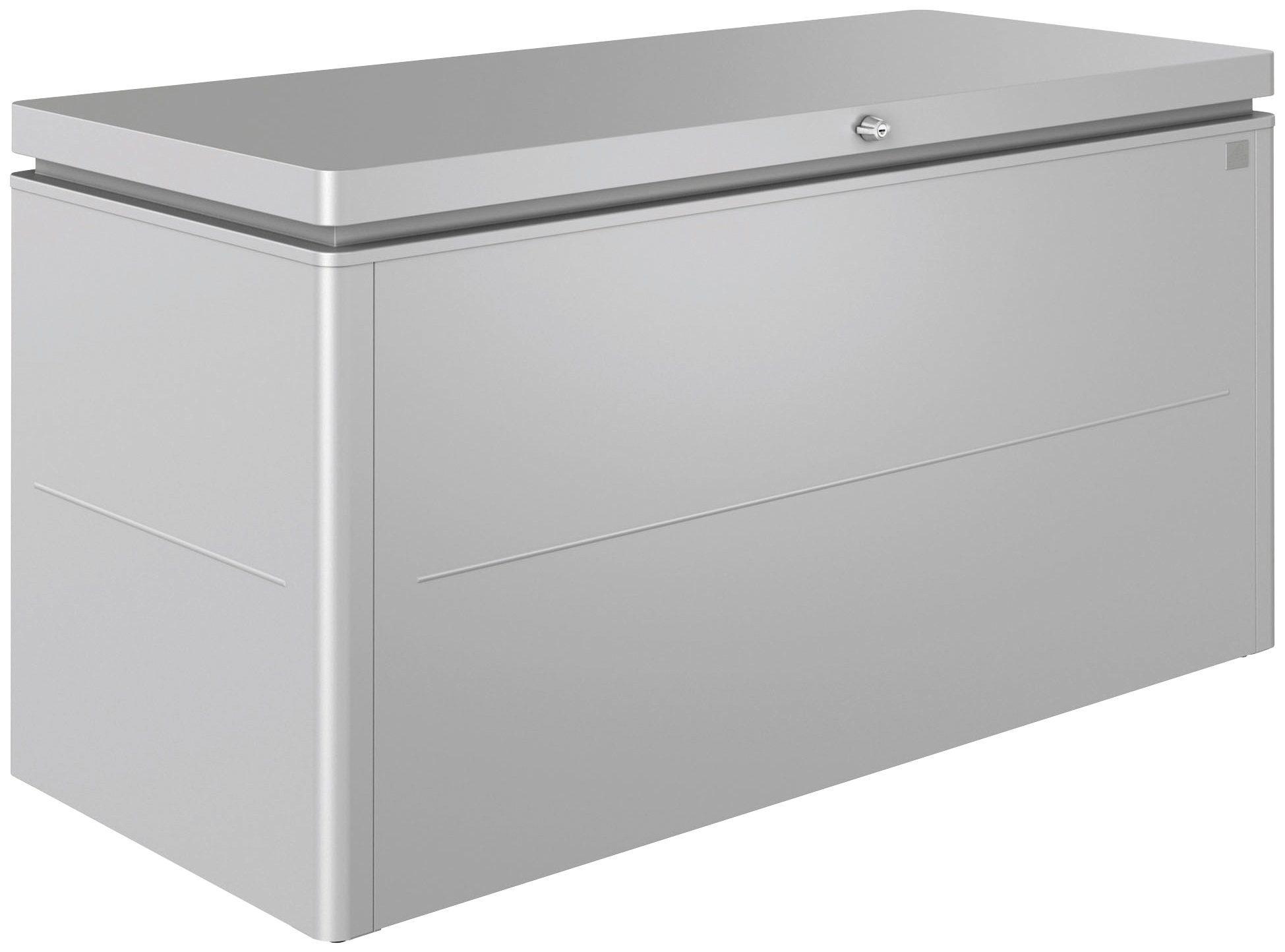 Biohort Aufbewahrungsbox »LoungeBox Gr. 160«, B/T/H: 160/70/83,5 cm, silberfarben metallic
