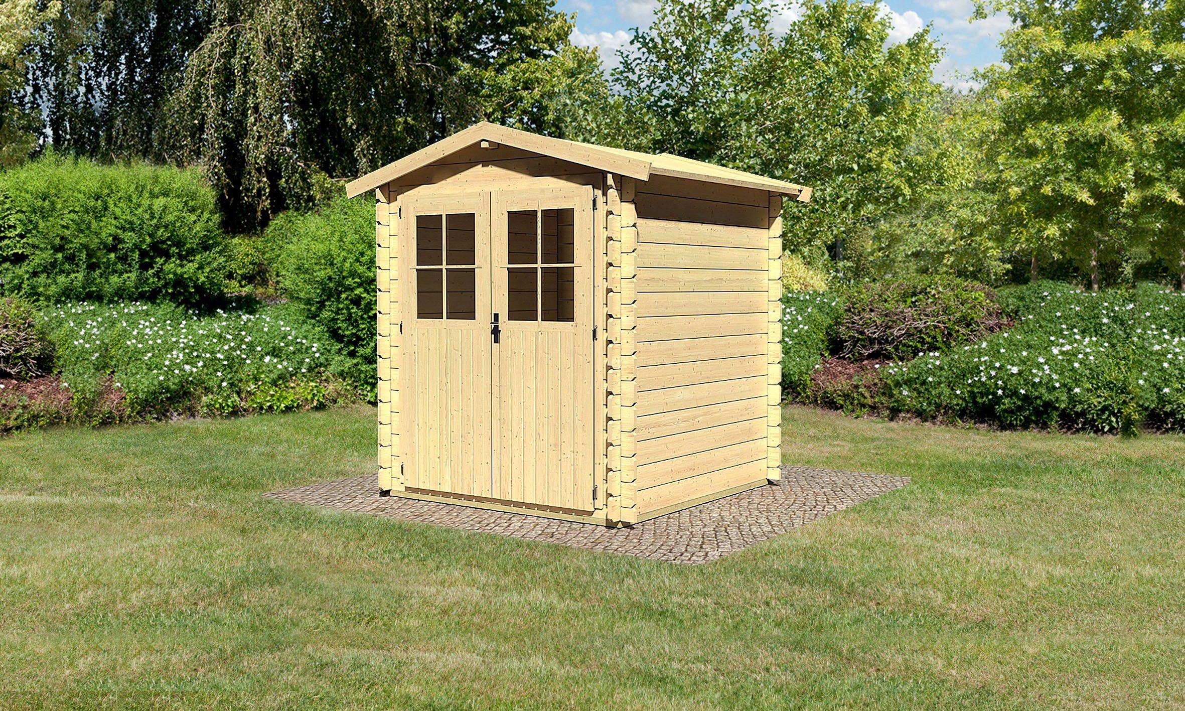 outdoor life products gartenhaus mosel 3 bxt 300x300 cm 28 mm g nstig gebraucht kaufen bis. Black Bedroom Furniture Sets. Home Design Ideas