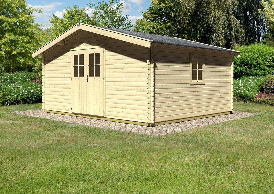 Gartenhaus Mit Fußboden Kaufen ~ Konifera set: gartenhaus »mühlheim 8« bxt: 502x412 cm inkl