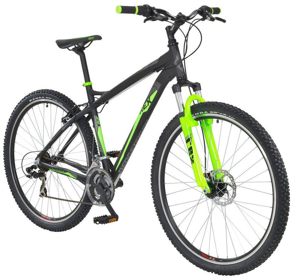 rex mountainbike graveler 7 2 27 5 29 zoll 21 gang. Black Bedroom Furniture Sets. Home Design Ideas
