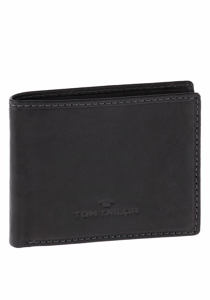 Tom Tailor Geldbörse »LARY« in schwarz