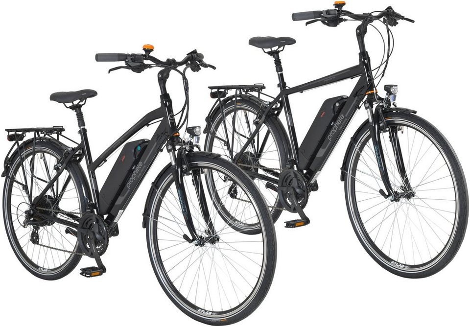 prophete trekking e bike sparset 2 x navigator 750 im. Black Bedroom Furniture Sets. Home Design Ideas