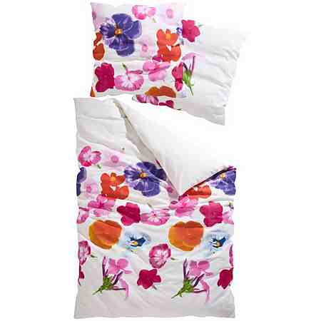 Weitere Bettwäsche: Blumen Bettwäsche