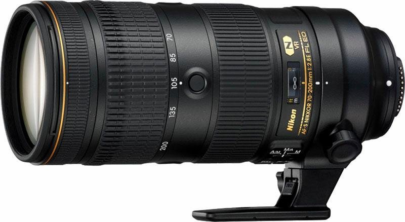 AF-S Nikkor 70-200mm 1:2.8 E FL ED VR Telezoom Objektiv