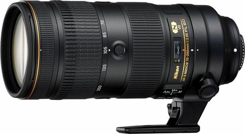 Nikon AF-S Nikkor 70-200mm 1:2.8 E FL ED VR Telezoom Objektiv