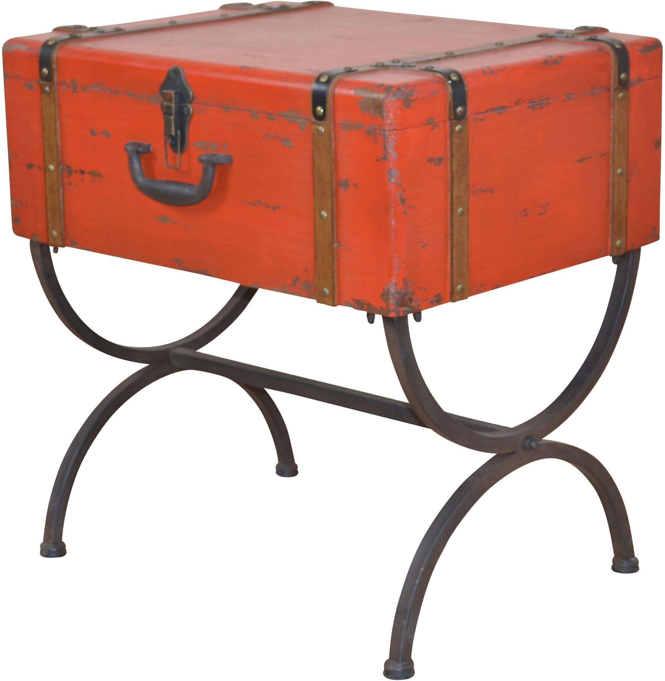Home affaire Beistelltisch »Koffer«