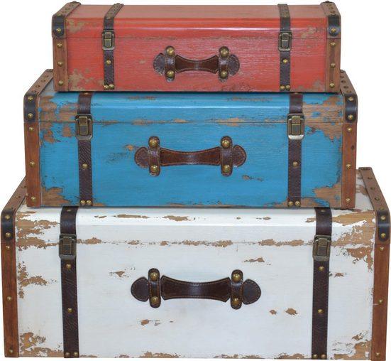 Home affaire Aufbewahrungsbox (Set, 3 Stück)