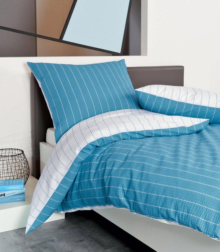 wendebettw sche janine wende mit feinen streifen. Black Bedroom Furniture Sets. Home Design Ideas