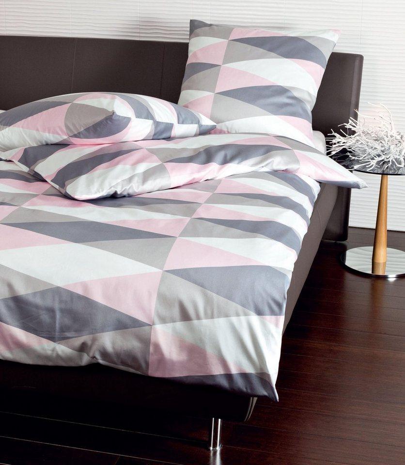 bettw sche dynamio janine mit grafischen muster online kaufen otto. Black Bedroom Furniture Sets. Home Design Ideas