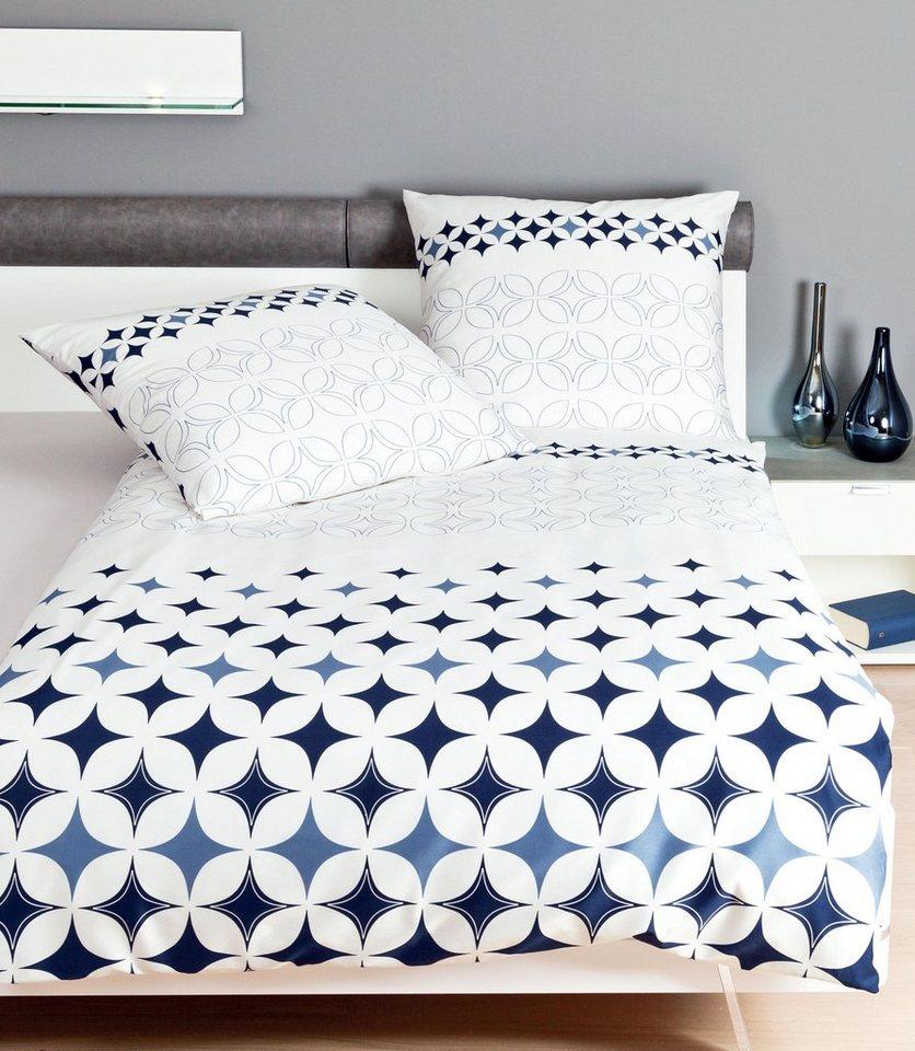 Bettwäsche »Modern«, Janine, mit grafischen Muster   OTTO