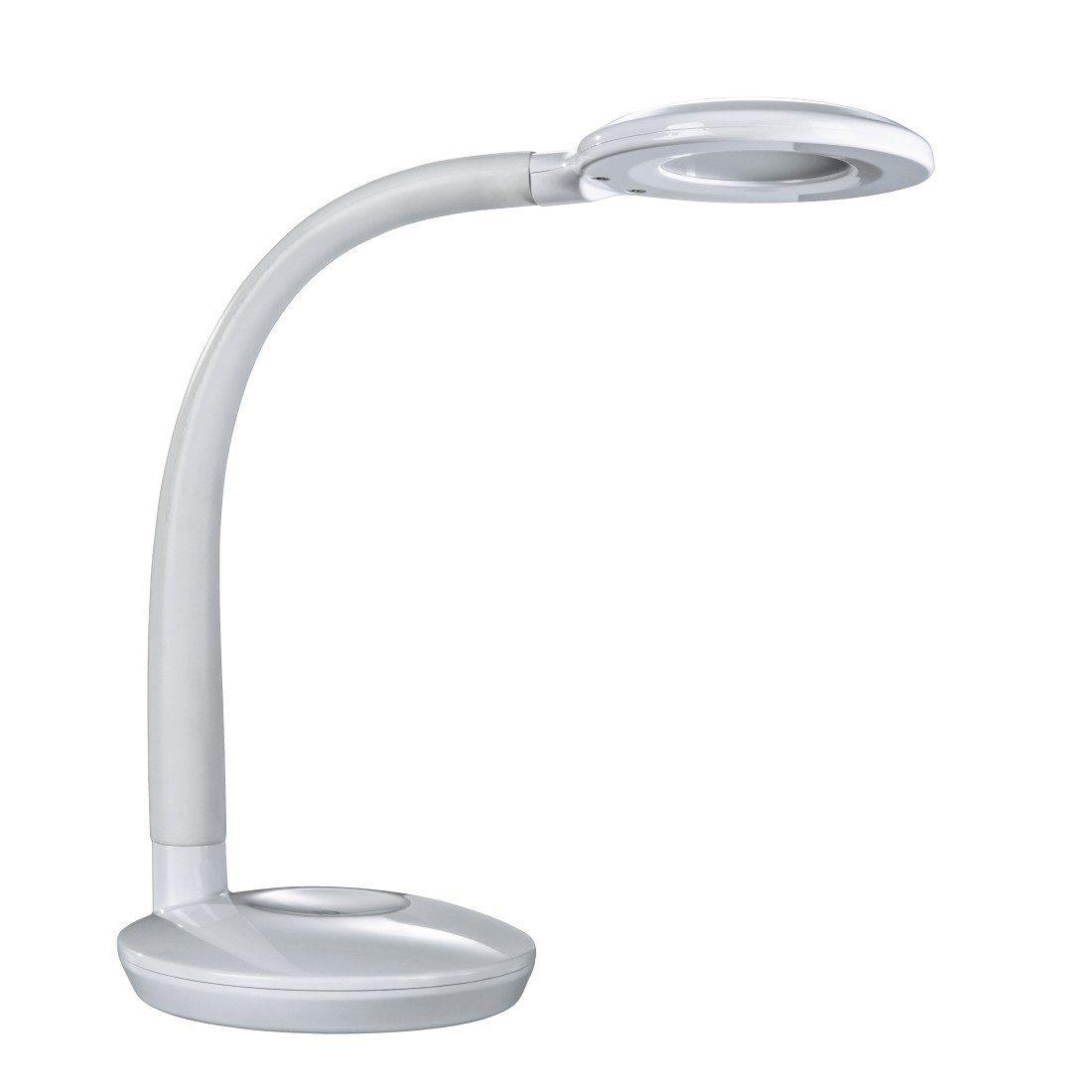 Hama LED Design Schreibtischlampe, dimmbare Touch Bürolampe, 5 W »flexibel drehbar & neigbar«