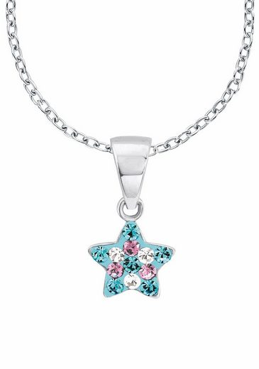 Prinzessin Lillifee Silberkette »Stern, 2013183«, mit Kristallsteinen