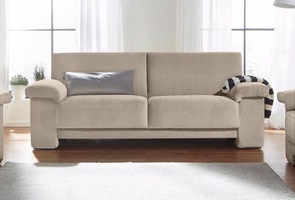 3 sitzer mit federkern in hochwertiger verarbeitung online kaufen otto. Black Bedroom Furniture Sets. Home Design Ideas