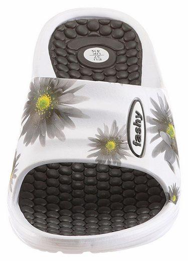 Fashy Badeschuh, mit Noppen im Fußbett
