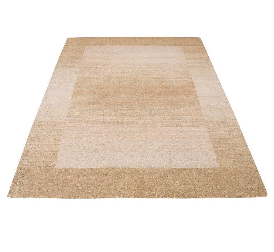 Teppich, Theko Exclusiv, »Gabbeh Super«, handgewebt in beige