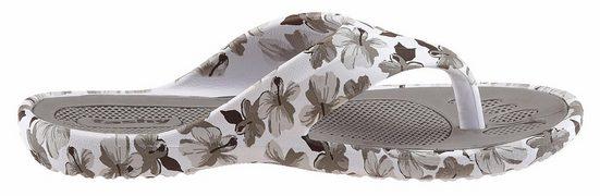Fashy Badeschuh, mit Blumendruck