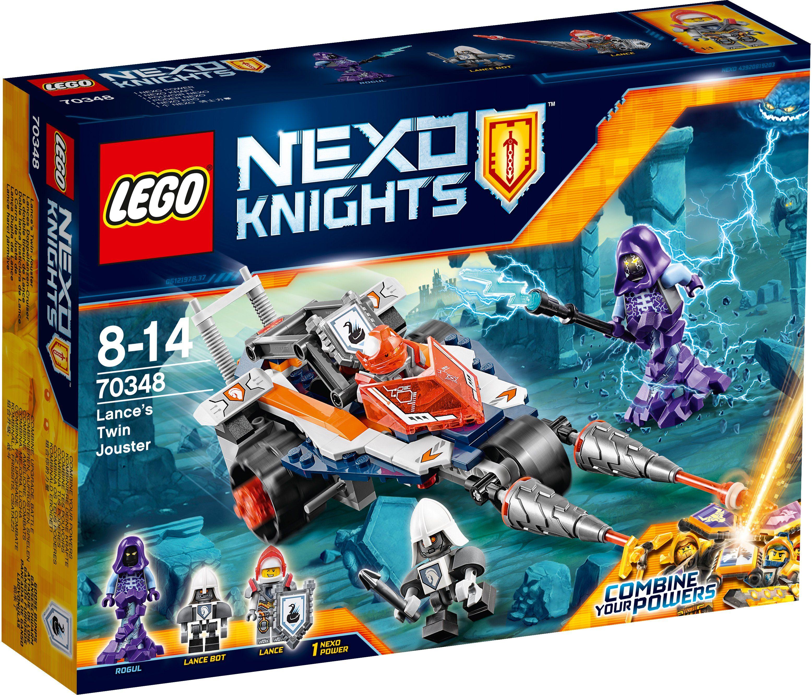LEGO®, Lances Doppellanzen-Cruiser (70348), »LEGO® NEXO KNIGHTS™«