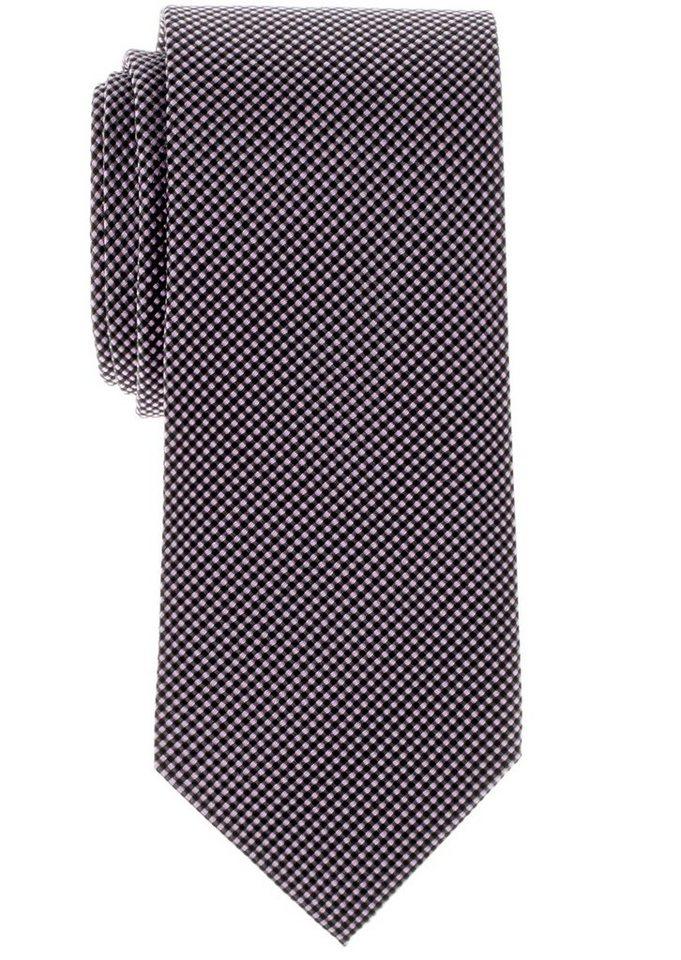 ETERNA Krawatte »breit« in rosa