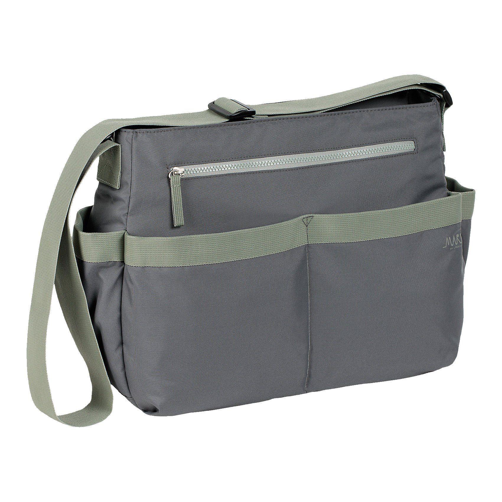 Lässig Wickeltasche Marv, Shoulder Bag, grey