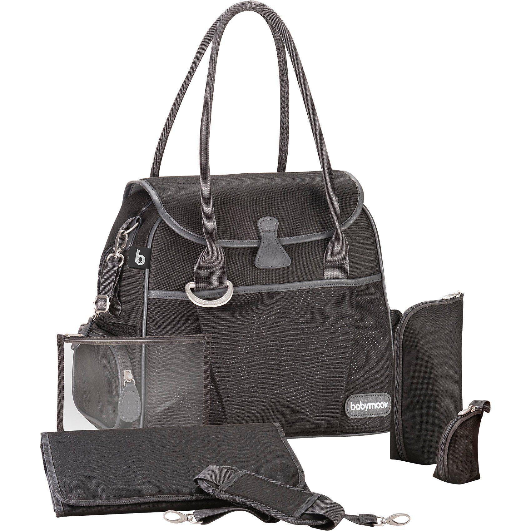 BABYMOOV Wickeltasche Style Bag, Dotwork
