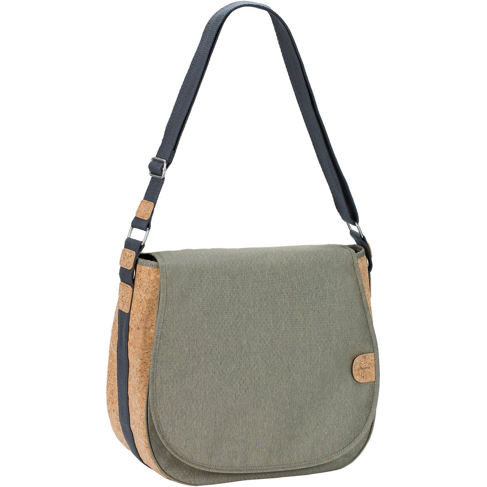 Lässig Wickeltasche Greenlabel, Saddle Bag, Gold Mélange
