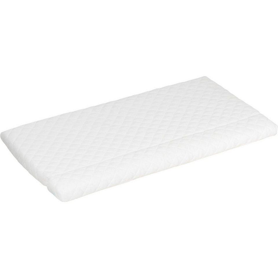 Alvi Baby Matratze HygienAir für Beistellbett, klappbar, 40/50 x