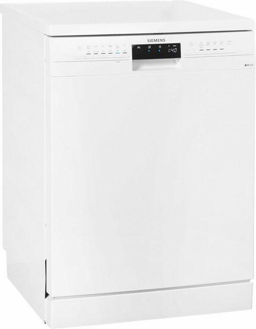 Küchengroßgeräte - SIEMENS Standgeschirrspüler iQ300, SN236W01CE, 9,5 l, 13 Maßgedecke  - Onlineshop OTTO