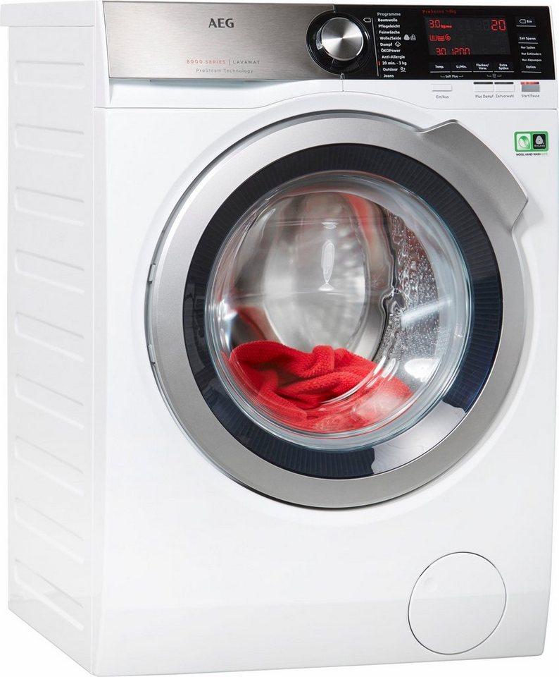 AEG Waschmaschine L8FE86684, A+++, 8 kg, 1600 U/Min in weiß