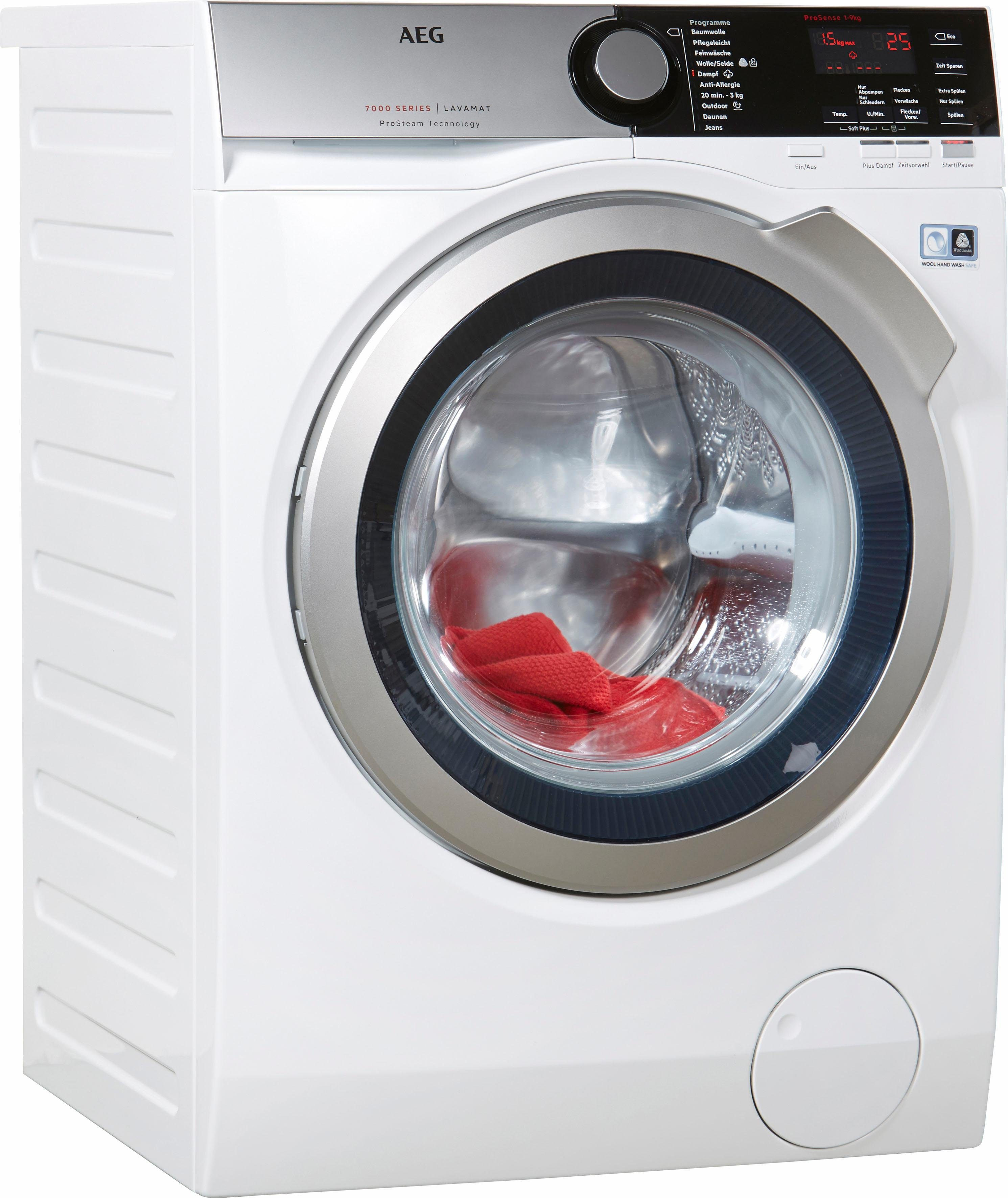 AEG Waschmaschine LAVAMAT L7FE76695, 9 kg, 1600 U/Min