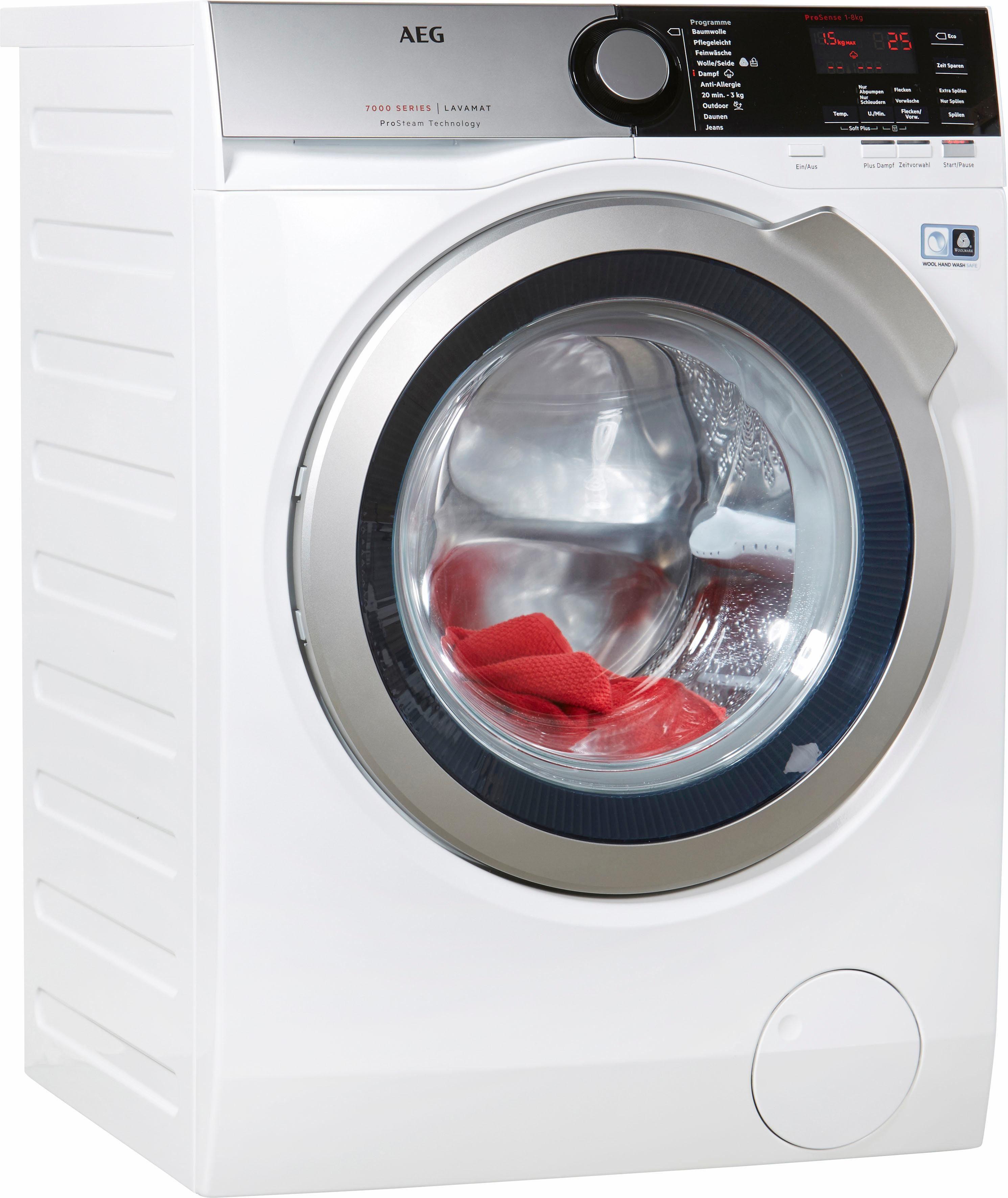 AEG Waschmaschine Lavamat L7FE76684, A+++, 8 kg, 1600 U/Min