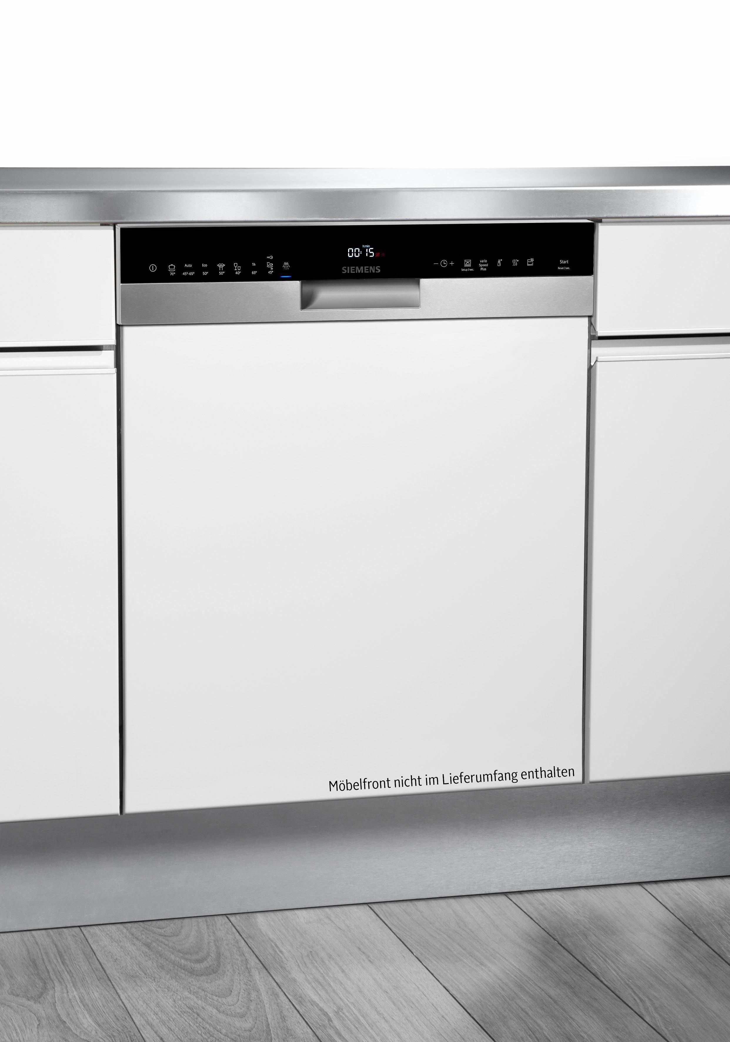 SIEMENS Teilintegrierbarer Geschirrspüler iQ500 SN558S00IE, A+++, 9,5 Liter, 13 Maßgedecke