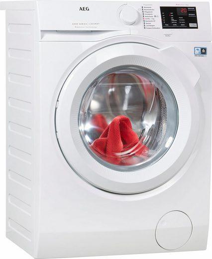AEG Waschmaschine LAVAMAT L6FB54680, 8 kg, 1600 U/Min, ProSense - Mengenautomatik